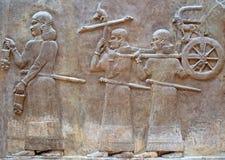Objet façonné sumérien images libres de droits