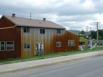 Objet immobilier fol de femme, entreprise immobilière dans Hulett, WY Image stock