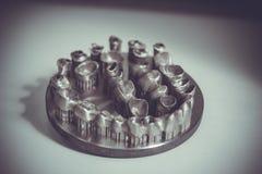 Objet imprimé sur l'imprimante en métal 3d Photos libres de droits