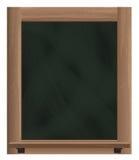 Objet vertical vide de cadre de tableau noir Photographie stock