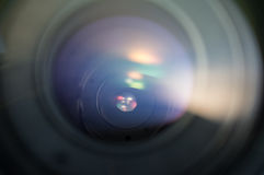 Objetiva das lâminas da abertura Fotografia de Stock