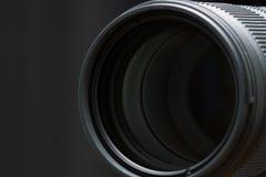 Objetivo da parte dianteira da lente de telephoto Fotografia de Stock Royalty Free