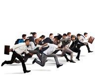 Objetivo de negócios comum Imagens de Stock