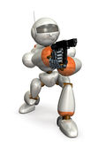 Objetivo del robot Imagen de archivo libre de regalías