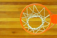 Objetivo do basquetebol Foto de Stock