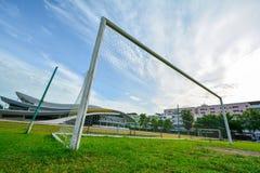 Objetivo do futebol Fotografia de Stock
