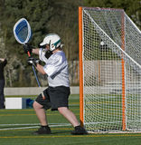Objetivo do Lacrosse Fotografia de Stock