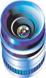 Objetivo para a câmera digital da foto Foto de Stock Royalty Free