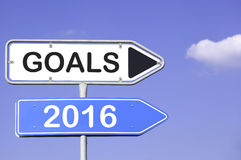 Objetivos 2016 Imagens de Stock