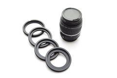 Objetivos de la cámara Fotos de archivo libres de regalías