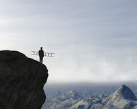 Objetivos de negócios, desafio, inovação, ideias foto de stock