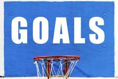 Objetivos de negócios mesmos que jogos dos esportes foto de stock royalty free