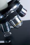 Objetivos del microscopio Fotos de archivo libres de regalías