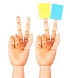 Objetivos fundamentals que planeiam o conceito da estratégia Fotografia de Stock Royalty Free