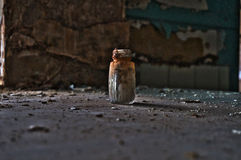 Objeto abandonado de la mansión foto de archivo