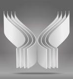 Objeto abstracto 3D del vector Imagen de archivo