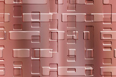 Objeto abstracto del metal Imagen de archivo