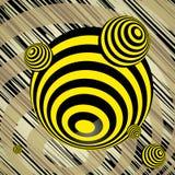 Objeto abstracto esférico Imagen de archivo libre de regalías