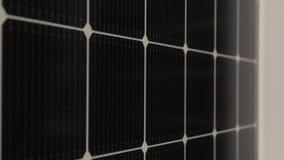 Objeto da energia solar panels video estoque