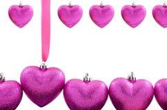 Objeto dado forma coração Imagem de Stock Royalty Free