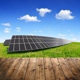 Objeto de energía solar de panels Imagenes de archivo