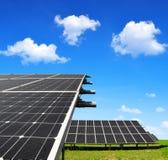 Objeto de energía solar de panels Fotografía de archivo
