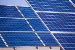 Objeto de energía solar de panels Fotografía de archivo libre de regalías