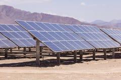 Objeto de energía solar de panels Imagen de archivo
