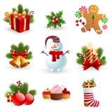 Objeto de la Navidad. Foto de archivo libre de regalías