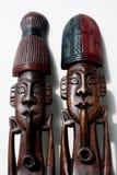 Objeto de madeira da arte Imagens de Stock