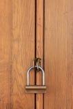 Objeto de madeira fechado Foto de Stock