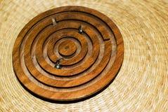 Objeto de madeira Foto de Stock Royalty Free
