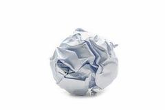 Objeto de papel da bola foto de stock royalty free