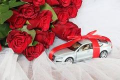 Objeto de valor presente para alguien concepto especial Fondo de la boda Fotografía de archivo libre de regalías