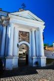 Objeto del arte de la historia de Kiev Pechersk Lavra Ukraine imagen de archivo libre de regalías