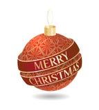 Objeto del diseño de la Navidad Imagenes de archivo