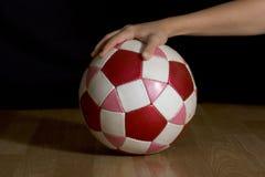 Objeto del fútbol Imagen de archivo libre de regalías