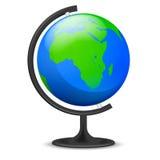 Objeto del globo de la educación de Asia aislado Imagen de archivo libre de regalías