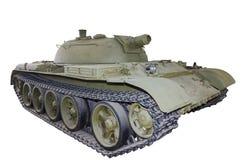 Objeto 483 do tanque do lança-chamas do russo isolado Imagem de Stock Royalty Free