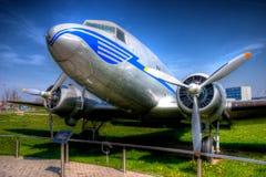 Objeto expuesto de DC-3 Dakota Fotografía de archivo libre de regalías