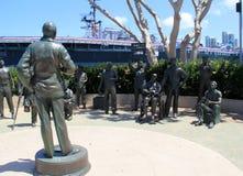 Objeto expuesto emocional de Bob Hope y de su amor para las tropas, San Diego, California, 2016 Fotos de archivo