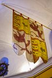 Objeto expuesto en el museo marítimo en la torre de oro en los bancos del río Guadalquivir en Sevilla España Fotografía de archivo