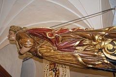 Objeto expuesto en el museo marítimo en la torre de oro en los bancos del río Guadalquivir en Sevilla España Foto de archivo libre de regalías