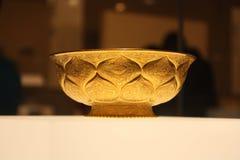 Objeto expuesto en un museo de la historia Foto de archivo
