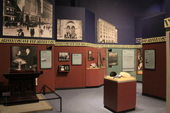 Objeto expuesto interesante en Harlem en los años 20, museo del estado, Albany, Nueva York, 2015 Foto de archivo libre de regalías