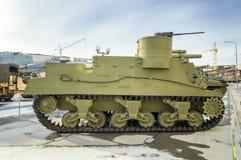 Objeto expuesto soviético del museo histórico militar, Verkhnyaya Pyshma, Ekaterimburgo, Rusia, g de las armas 09 05 2016 Fotografía de archivo libre de regalías
