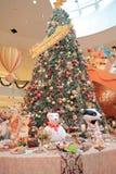 Objeto lindo del artículo de la decoración de la Navidad Fotos de archivo