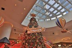 Objeto lindo del artículo de la decoración de la Navidad Fotografía de archivo