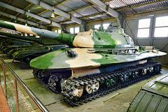 Objeto pesado experimental soviético 279 del tanque fotografía de archivo