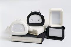 Objeto preto e branco Foto de Stock